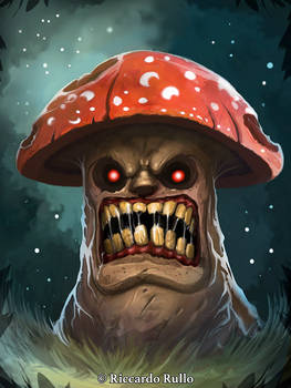 Growling mushroom