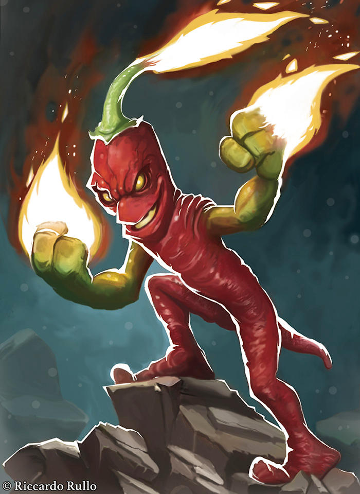 Fire pepper !
