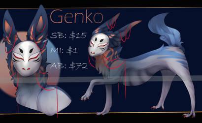 Genko Auction | CLOSED by gindensetsu