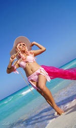 Sheryl Nome Beach Cosplay by Lys Creations 1