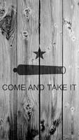 COME AND TAKE IT 1080x1920 Flag Wallpaper