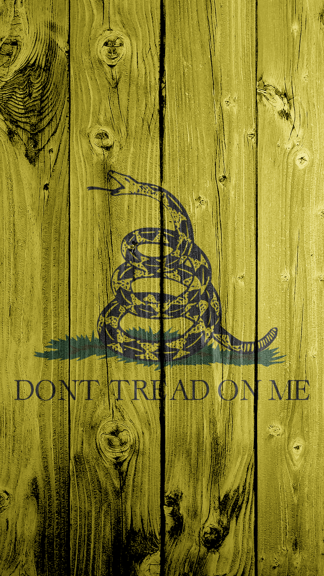 DONT TREAD ON ME 1080x1920 Flag Wallpaper By LoneStarPatriot