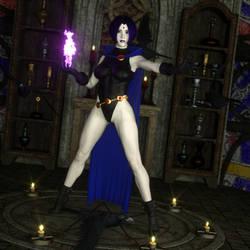 Teen Titans - Raven 01