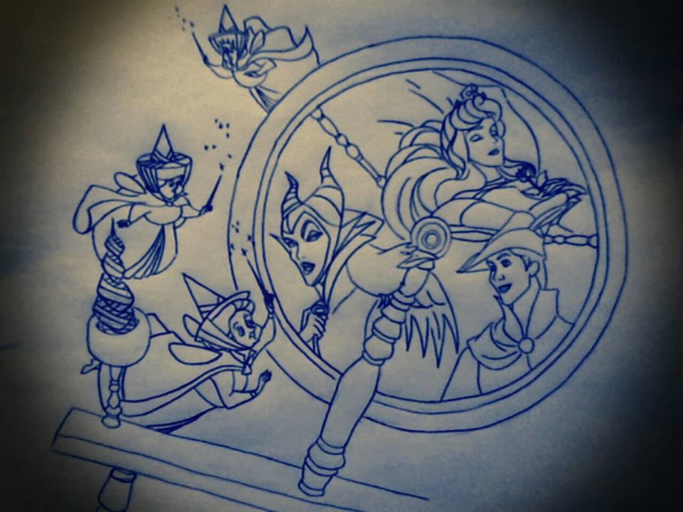 Disney Tattoo Design 2 By IcyRose13 On DeviantArt