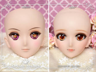 Before After for Volks DD01 by SorenkaArtwork