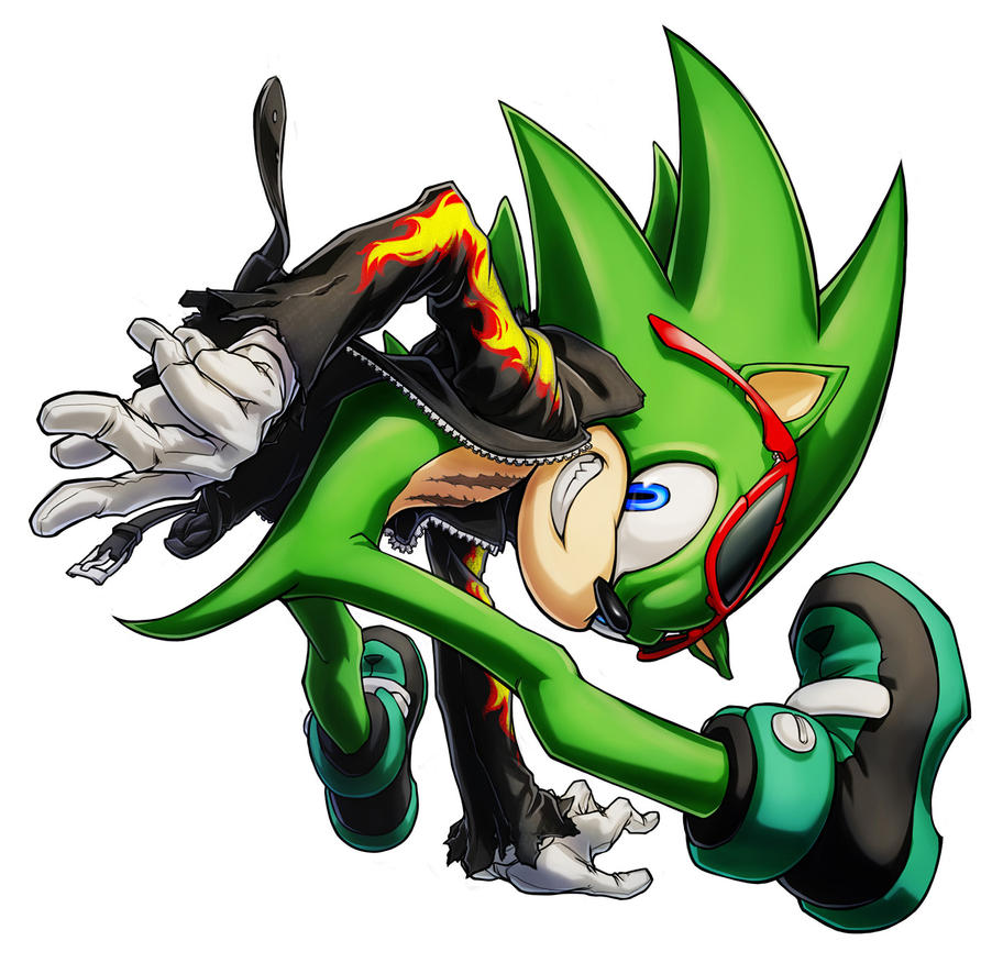 Scourge the Hedgehog by inualet on DeviantArt