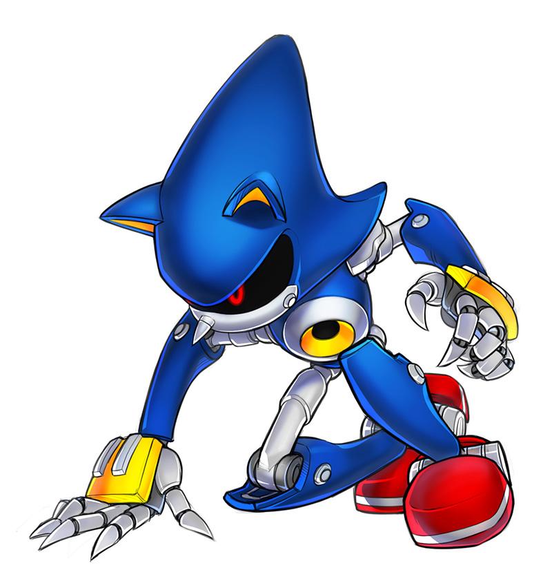 Sonic Generations - Retro Metal Sonic - Metal Sonic - Gallery ...