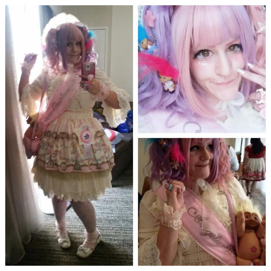Treasure Trolls OTT Sweet Lolita Coord by twootie