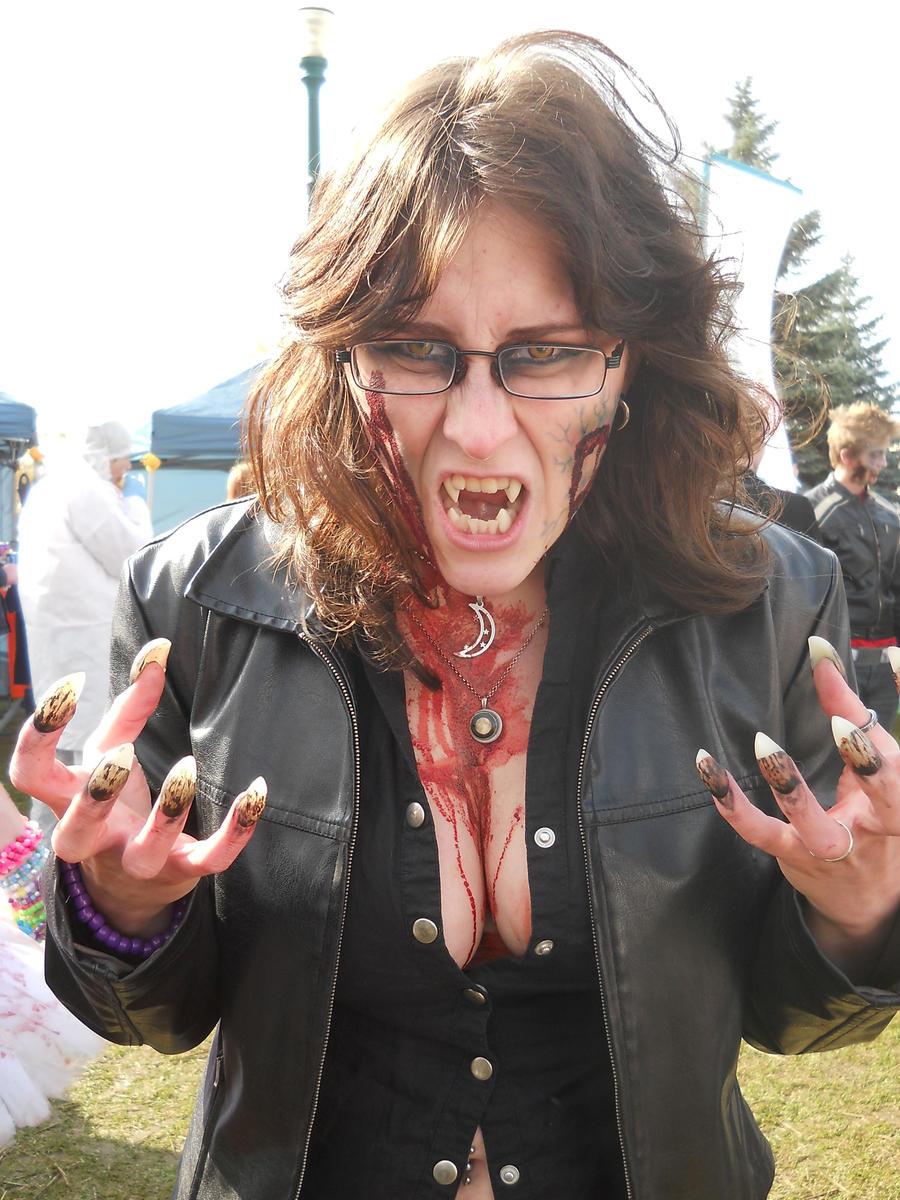 Zombie Werewolf by WolvenNightmare666
