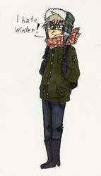 Me in winter
