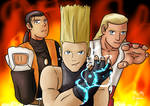 King of Fighters (Robert, Benimaru and Andy)
