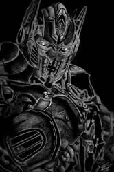 Optimus Prime by emafar