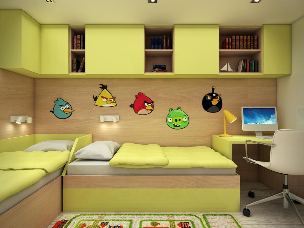 Kids Bedroom Interior Design by adorodesign