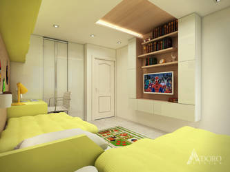 Kids Bedroom Interior Design