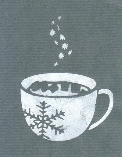 Hot Chocolate Card by michellama