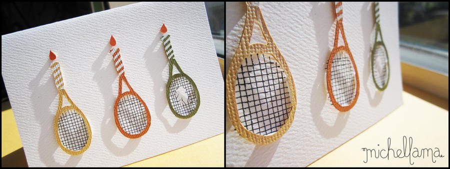 Tennis birthday card by michellama on deviantart tennis birthday card by michellama m4hsunfo