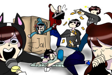 Discord bois // draw the squad by Amymations