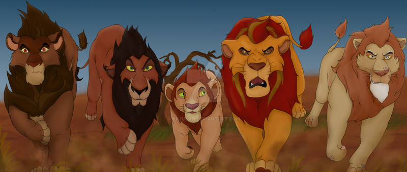 Have no fear - the lion guard is here!