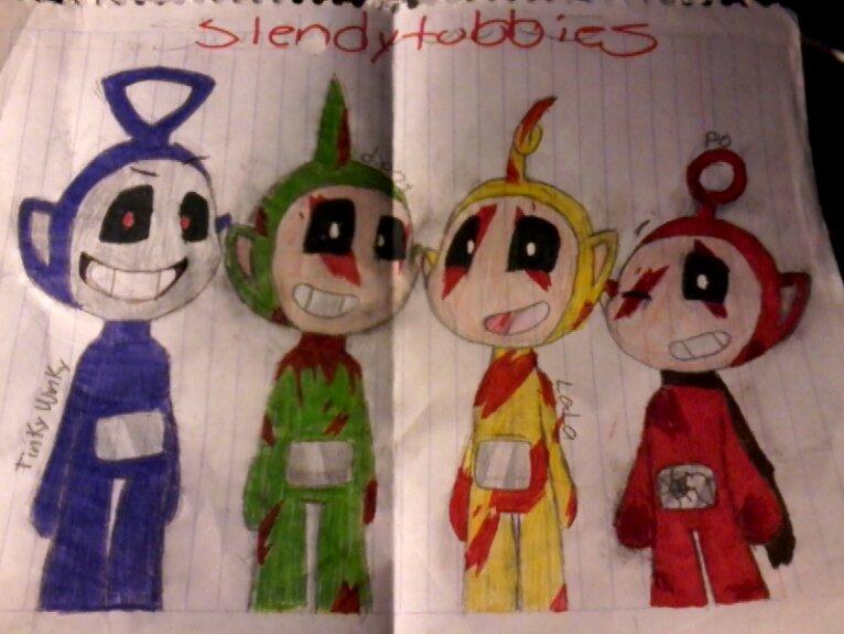 slendytubbies ( old ) by katherine5721