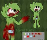 Zombie tubby ( NEW slendytubbies oc )
