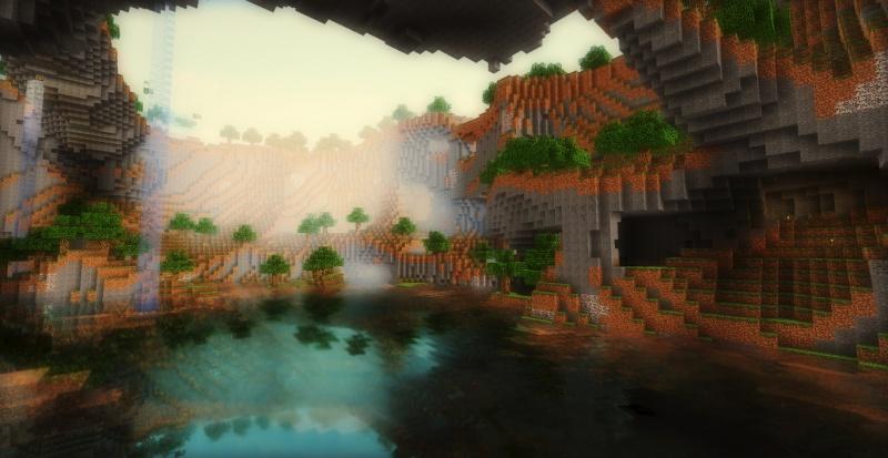 Fond Shader Minecraft Hd
