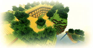 Minecraft - Stade aerien : Nupsia