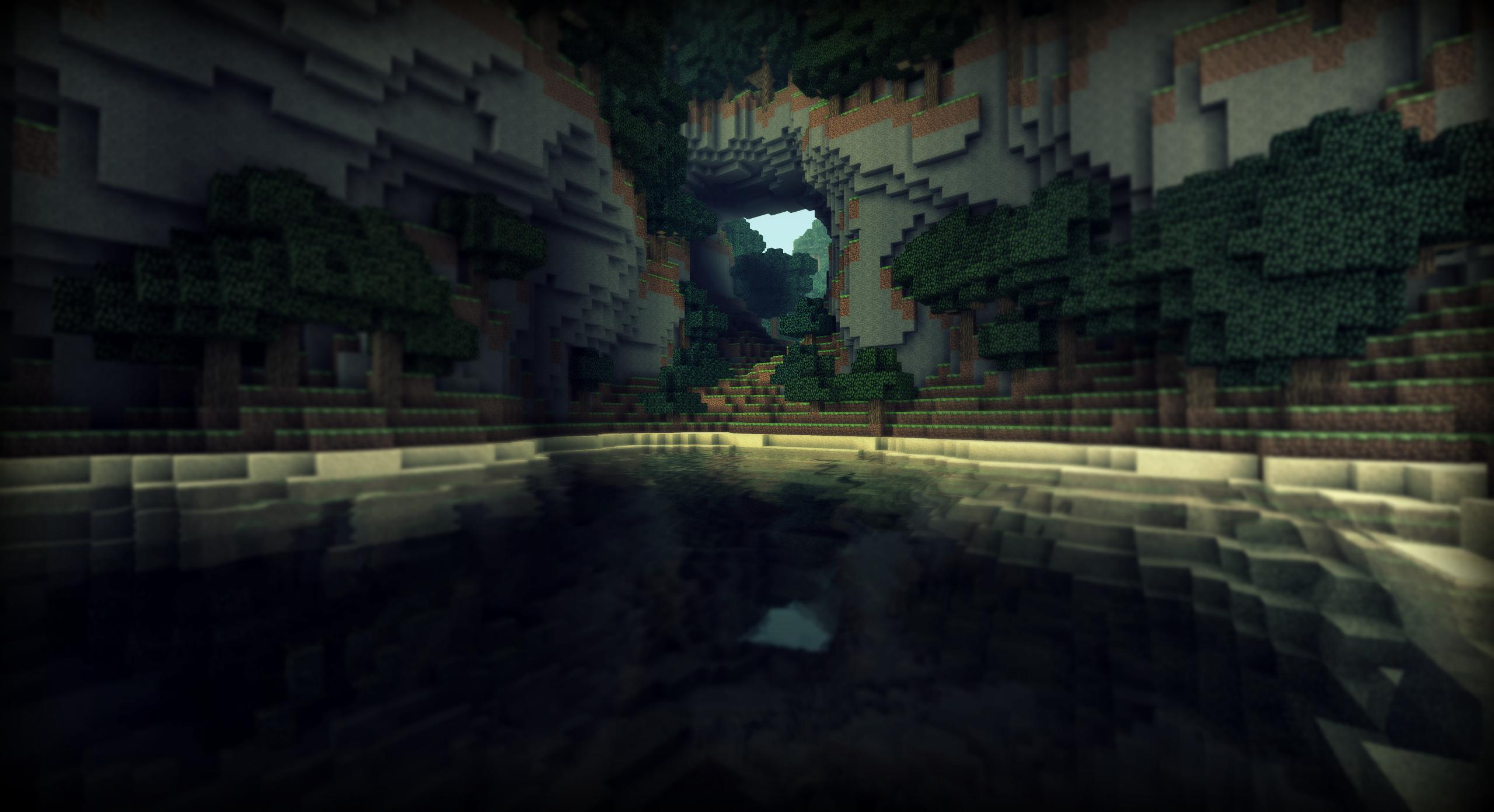 Minecraft Des Paysages De Vacances I By Alekscube On