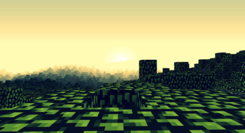 Minecraft - Lever de soleil ! by AleksCube