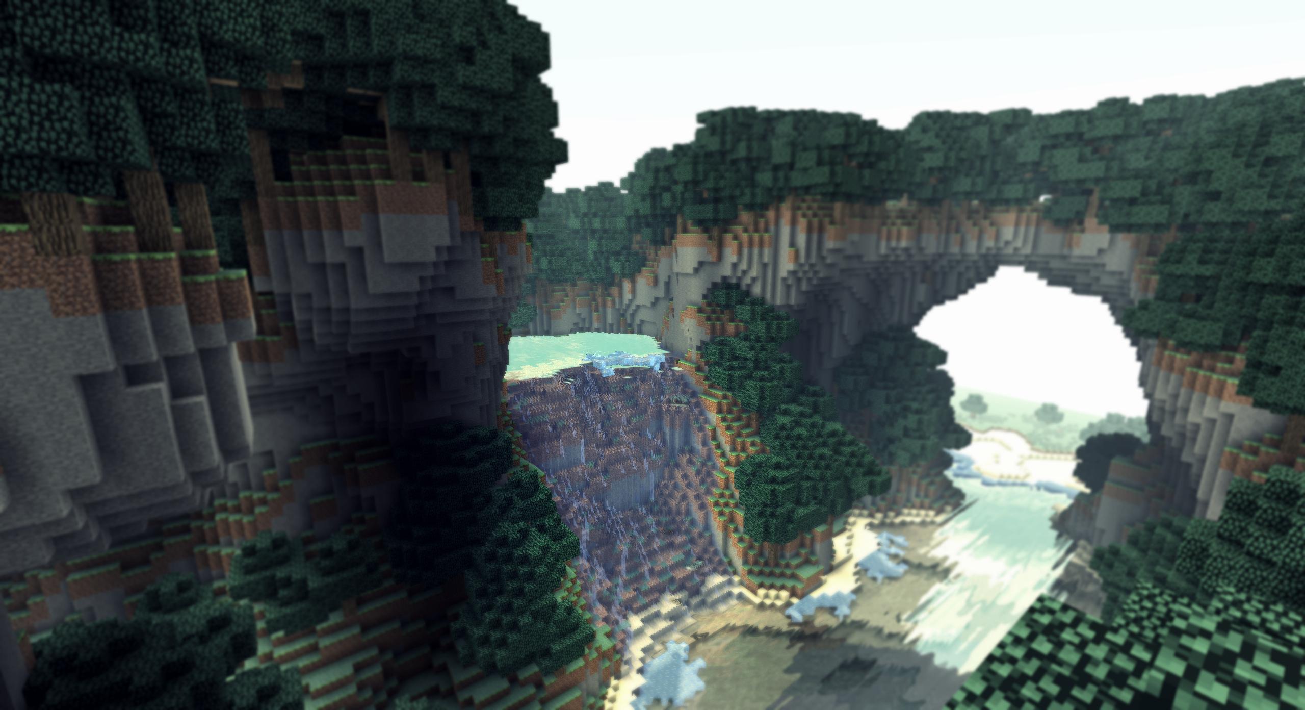 Minecraft Un Paysage De Vacances Iii By Alekscube On