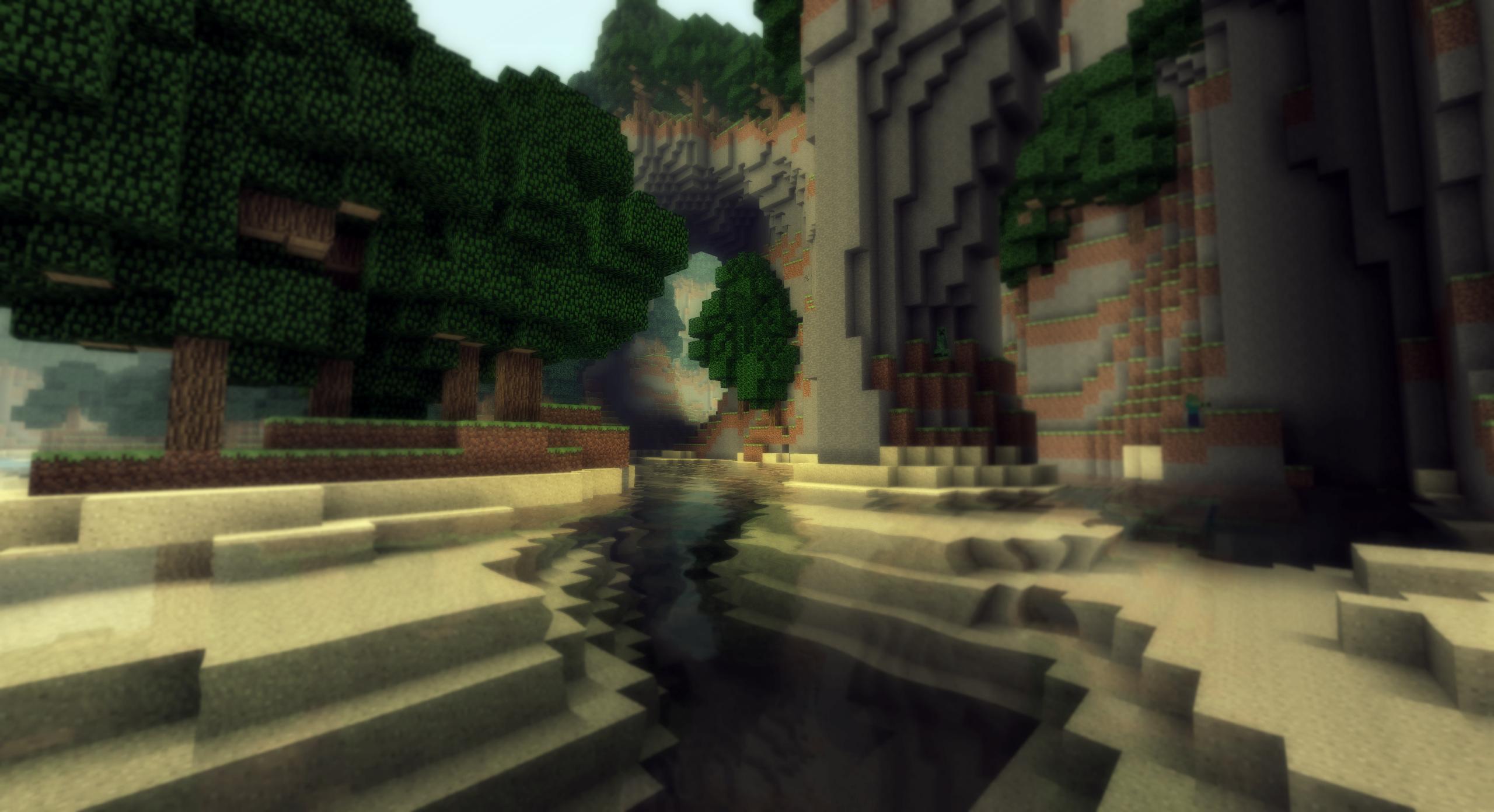 Minecraft -  Un paysage de vacances - IV by AleksCube