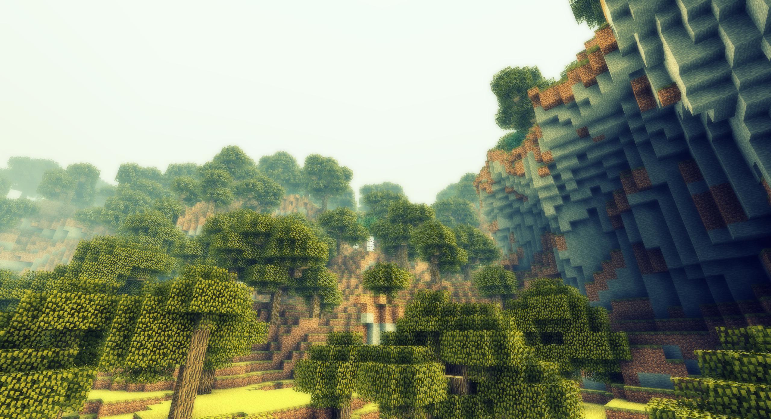 Minecraft Une Foret Sur Une Montagne Ii By Alekscube