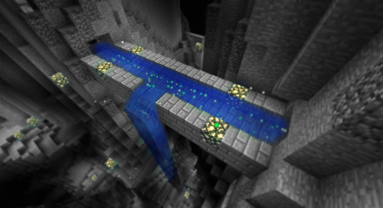 Minecraft - Un canal souterrain magique! by AleksCube