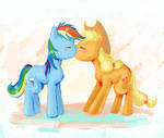 AppleDash Kiss