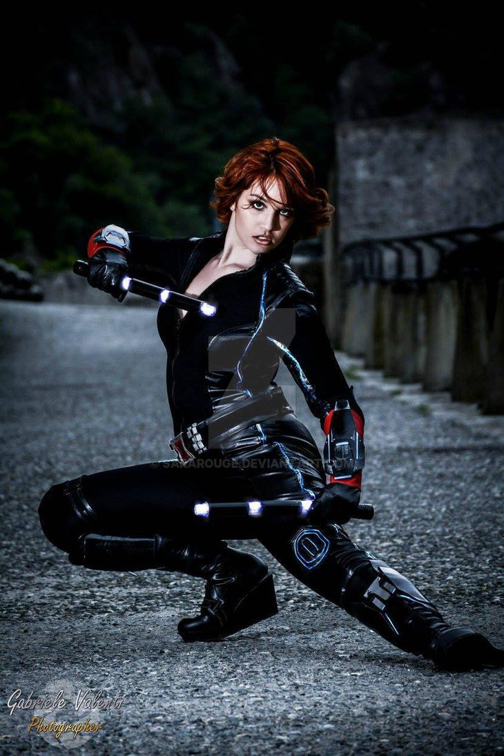 Black Widow Age Ultron: Age Of Ultron By Sararouge On DeviantArt