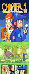 Lost Stars Page 1 - 4 by MidnightFrog
