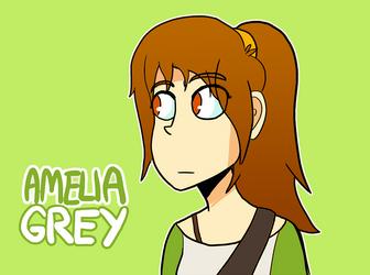 More Amelia Grey Design by MidnightFrog