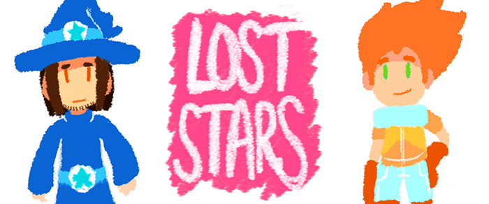 Lost Stars Website Banner by MidnightFrog
