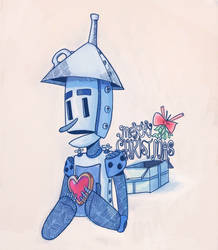 Merry Christmas Tinman by MidnightFrog