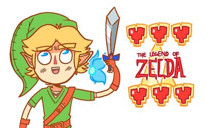 The Legend of Zelda by MidnightFrog