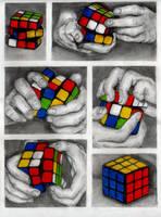 Rubik's by ElizabethParkin