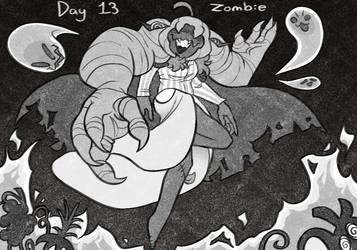 Day 13: Zombie by pepbird