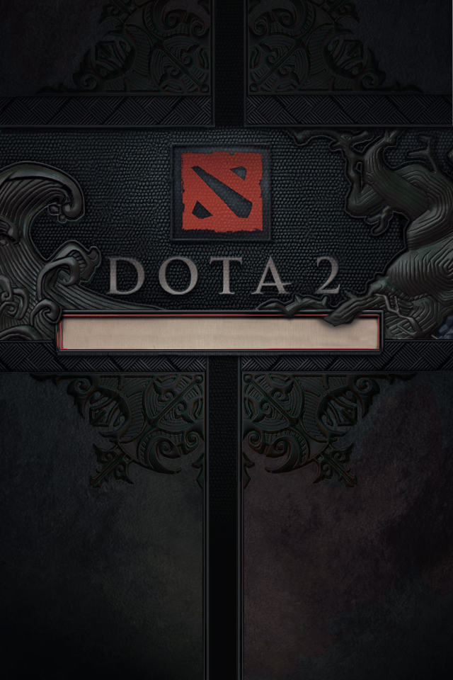 DeviantArt: More Like DotA 2 iPhone 4 Wallpaper by d-k0d3
