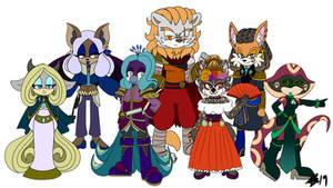 Seven Furry Demons