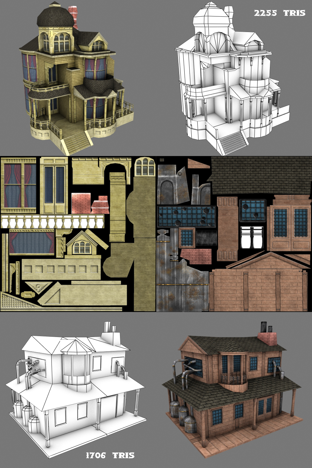 Low Poly Games Building By Conglaci On Deviantart