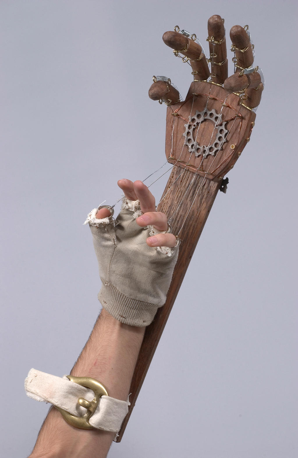 Mechanical hand art - photo#21