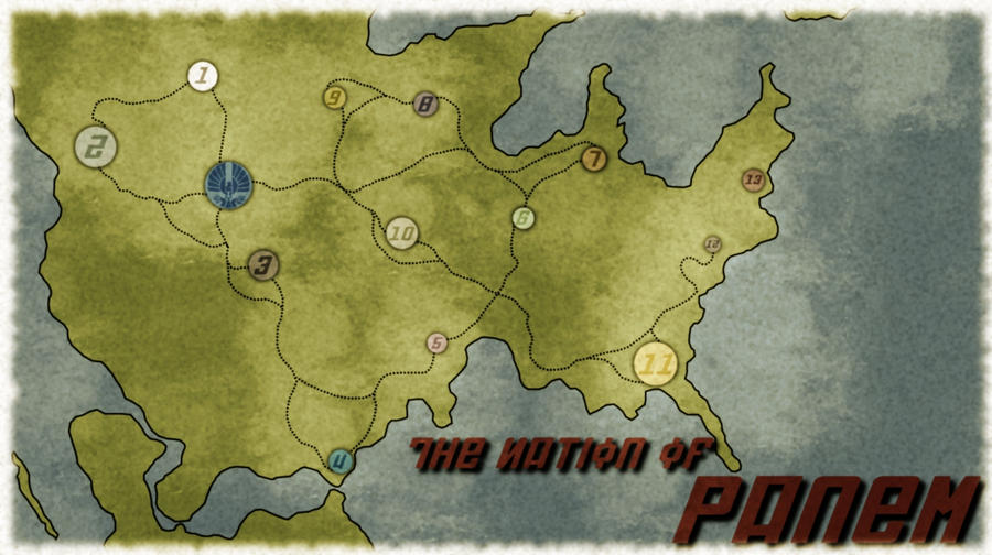 Panem Map by Atropos93 on DeviantArt
