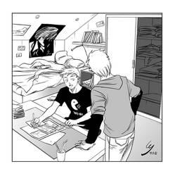 Novice mangaka by Cheu-Sae