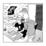 Novice mangaka