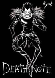 Death Note : Ryuk by Cheu-Sae