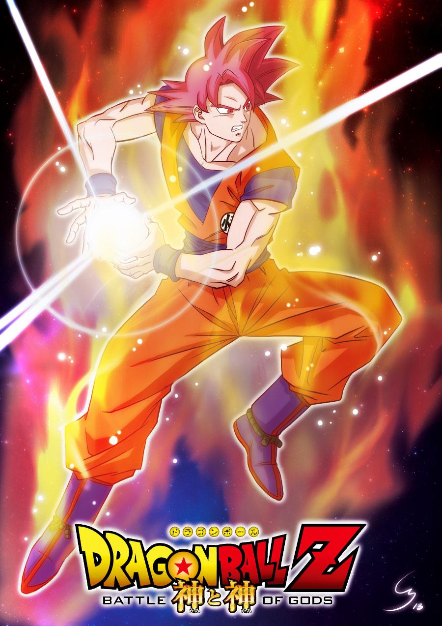Direct Live Mondoclub Son Goku Super Saiyan God By Cheu Sae On